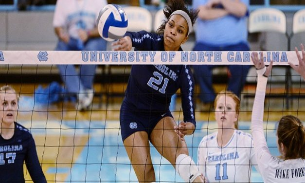 UNC Volleyball Defeats LIU-Brooklyn, Picks Up First Win Of Season in Home Opener