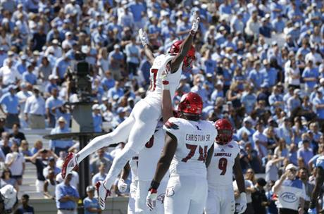 Tar Heels defenseless to stop the 'Lamar Jackson Show'