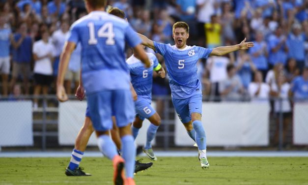 Lindley's Goal Pushes UNC Men's Soccer Past Pitt in ACC Opener