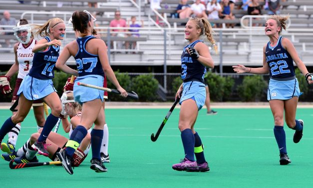 Ashley Hoffman Delivers OT Game-Winner for UNC Field Hockey in Win Over Boston College