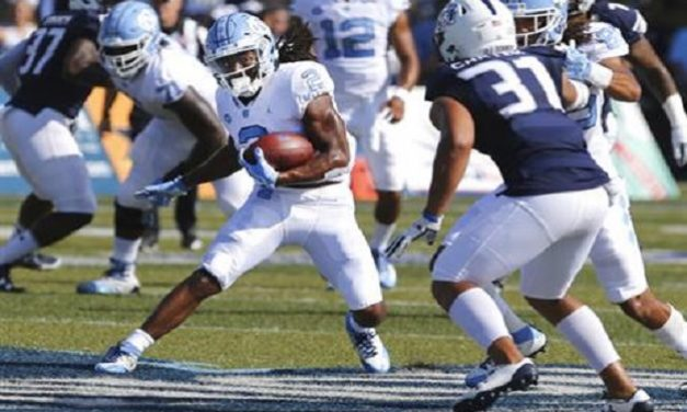 UNC Football Thrashes Old Dominion, Picks Up First Win of 2017