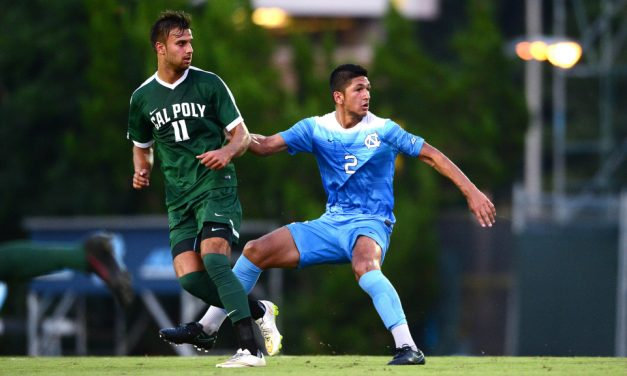 Men's Soccer: No. 8 UNC Slips Past No. 23 Duke in Rivalry Clash