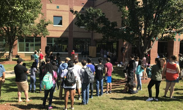 East Chapel Hill High Celebrates New Solar Initiative
