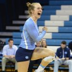 UNC Volleyball Rallies From Two Sets Down to Defeat Louisville in ACC Home Opener