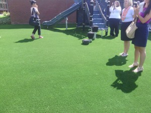 Northside Elementary Playground artificial grass