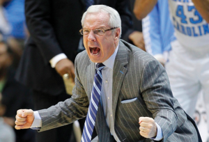 Roy Williams will be ready to give it his all next season (UNC Athletics)