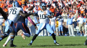 Mitch Trubisky continues to work on his game (UNC Athletics)