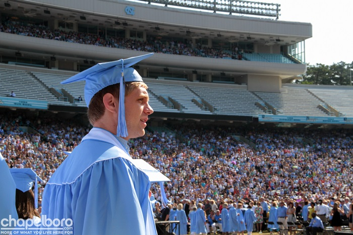 Nearly 5,000 UNC Students Register For In-Person Spring Commencement