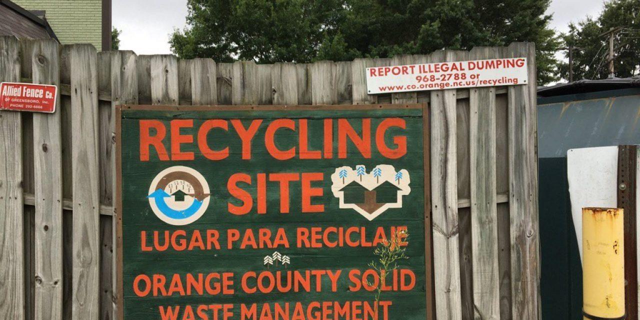 Carrboro Plaza Recycling Center To Close Chapelborocom