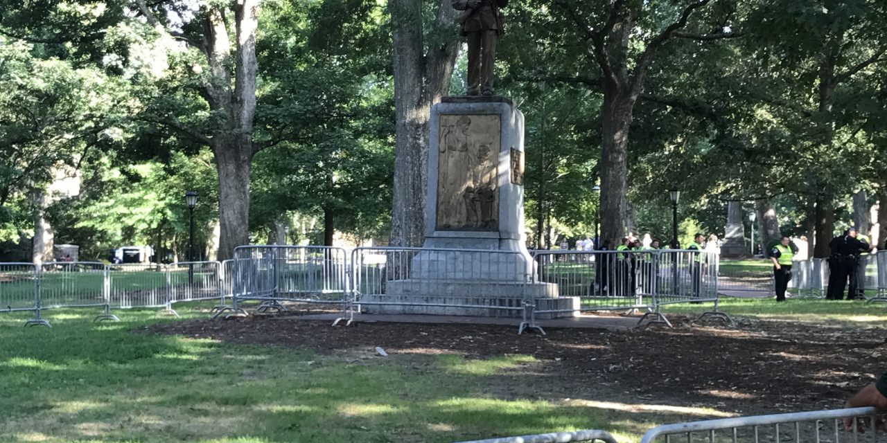 Another UNC Department Calls for Removal of Silent Sam