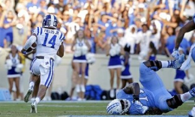 Late Interception Seals UNC's Fate in Victory Bell Loss to Duke
