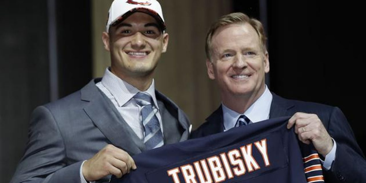 Trubisky Time: Chicago Bears to Start Former UNC QB Next Monday