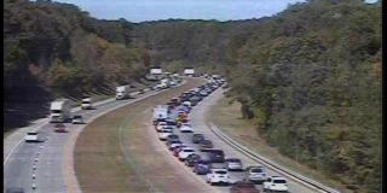 I-40 West Traffic Delayed After Orange County Wreck