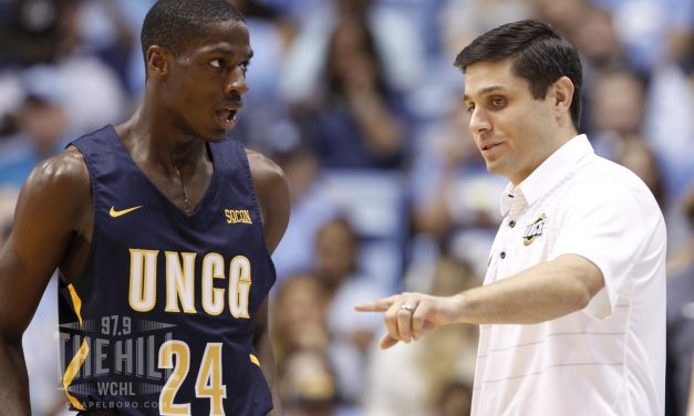Former Tar Heel Wes Miller Becomes All-Time Winningest Coach at UNCG