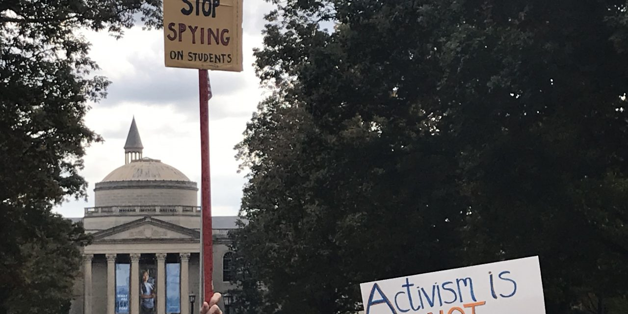 Protesters Rally Against UNC's Silent Sam