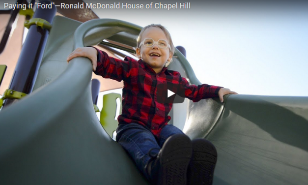 "Carolina Love: Paying It ""Ford"" – presented by Ronald McDonald House"