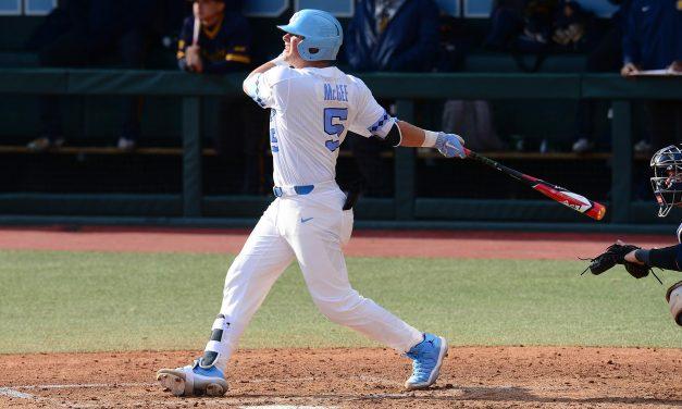Ashton McGee Leads UNC Baseball to Late Rally Over North Carolina A&T