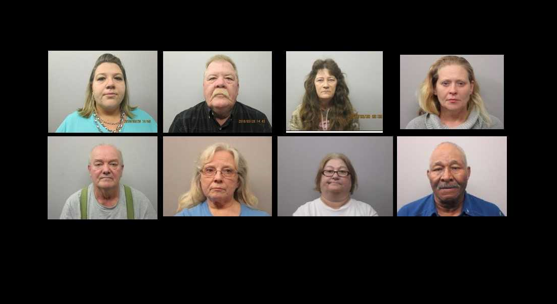 8 Arrested in Chatham County Drug Investigation - Chapelboro com
