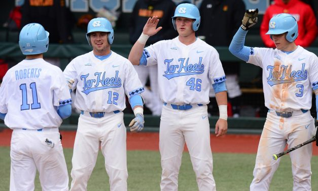 Diamond Heels Fall One Spot to No. 16 in D1Baseball Poll