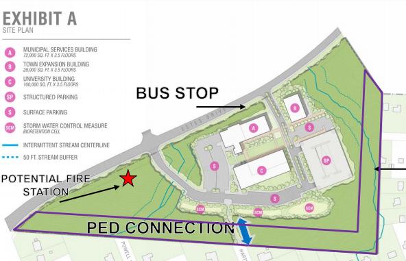 Chapel Hill, UNC Enter Development Agreement for Future Municipal Services Center