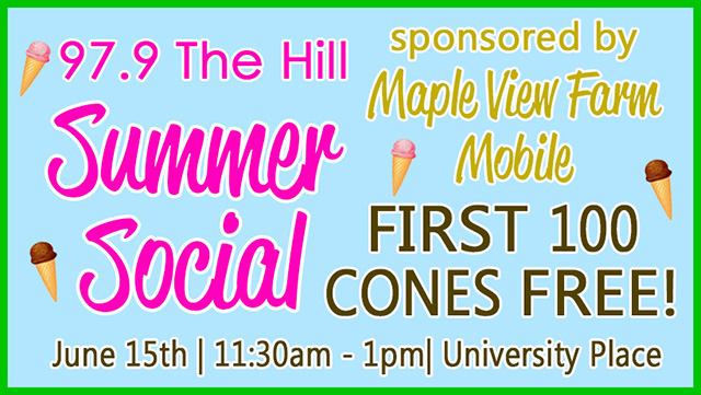 97.9 The Hill WCHL Summer Social