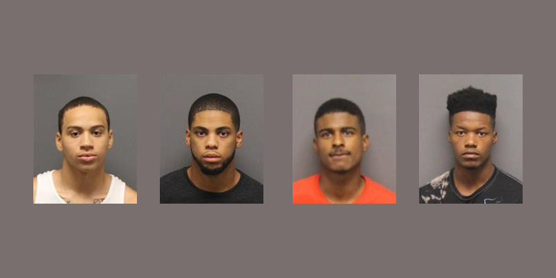Chapel Hill Police Charge 4 in Armed Robbery