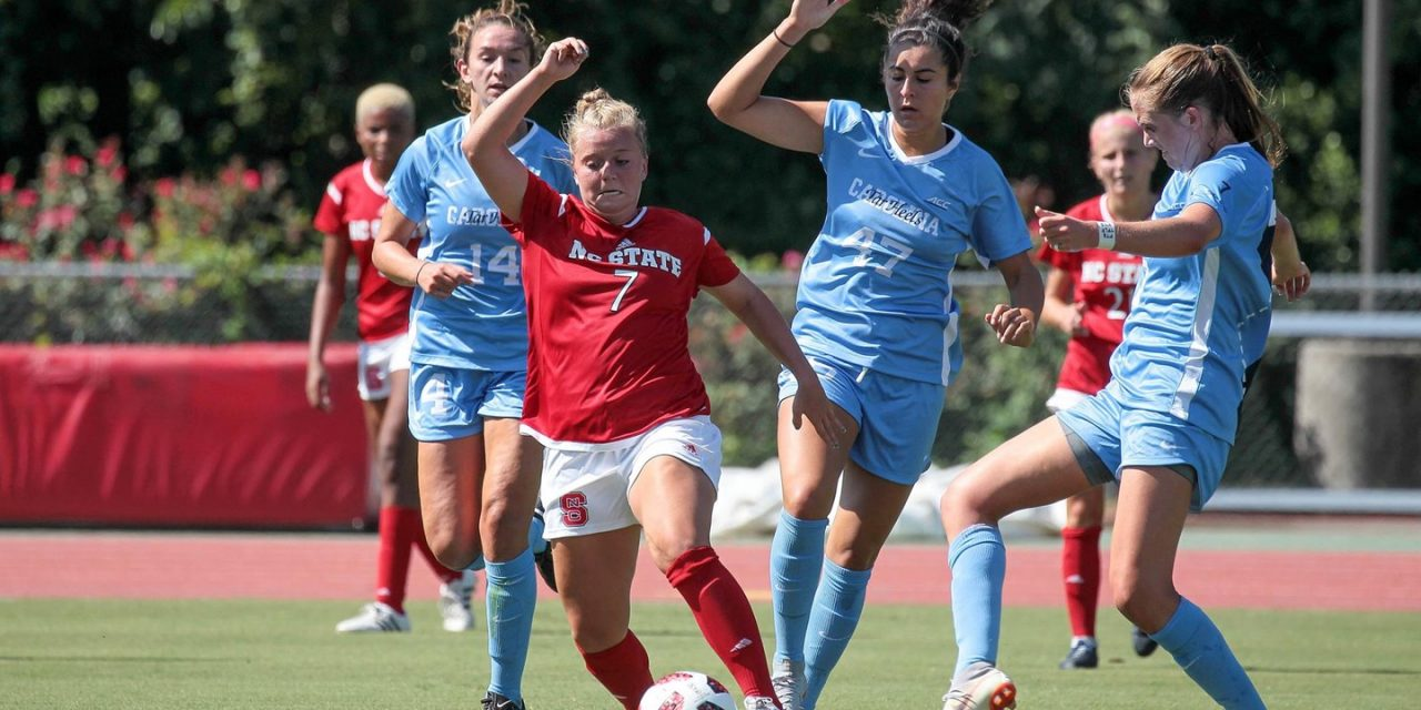 UNC Topples NC State in Women's Soccer Exhibition