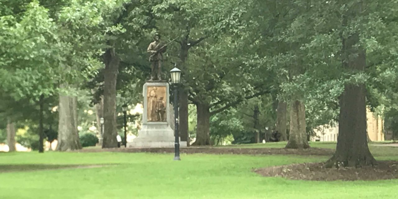 Silent Sam Standing 1 Year After Charlottesville