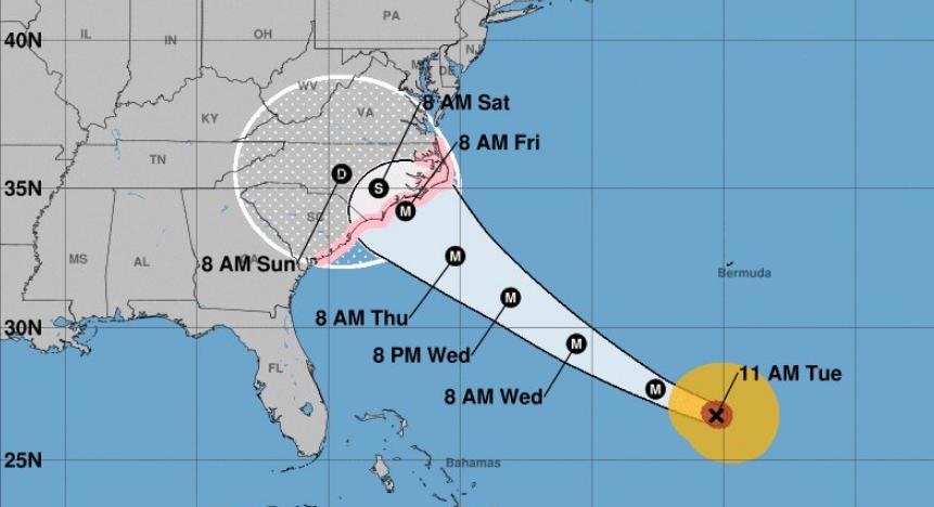 Orange County in 'Full Preparedness Mode' Ahead of Hurricane Florence