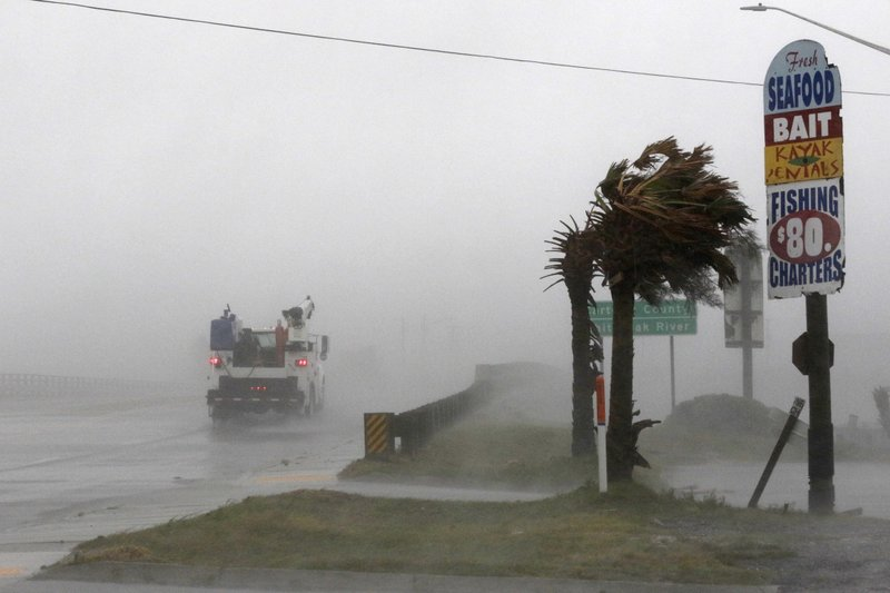 Florence Downgraded to a Category 1 Hurricane
