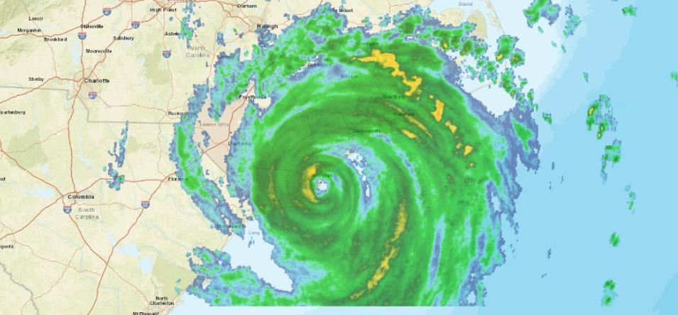 Hurricane Center: Florence Makes Landfall in N. Carolina
