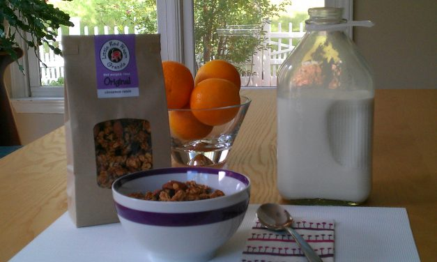Made in NC: Little Red Wagon Granola