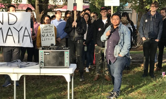 UNC Graduate Student Maya Little Charged in Silent Sam Protest