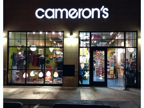 Cameron's Announces Store Closing Date