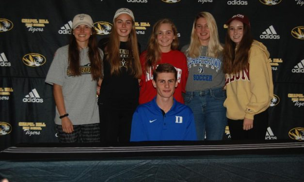 Chapel Hill High School Recognizes Six at Student-Athlete College Signing Ceremony