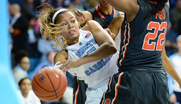 UNC Women's Basketball Snaps Three-Game Losing Skid With Blowout Win Over Wake Forest