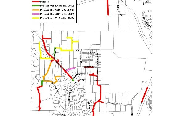 Rock Blasting Needed for Rogers Road Area Sewer Project