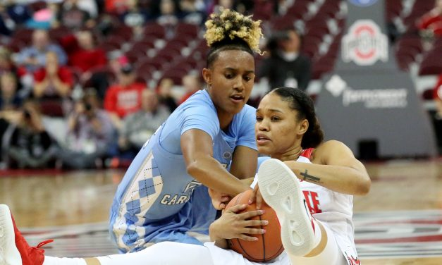 Women's Hoops: Ohio State Comes From Behind to Knock Off UNC