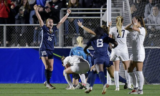 Julia Ashley's Double Overtime Goal Sends UNC Women's Soccer Past Georgetown, Into NCAA Championship Match