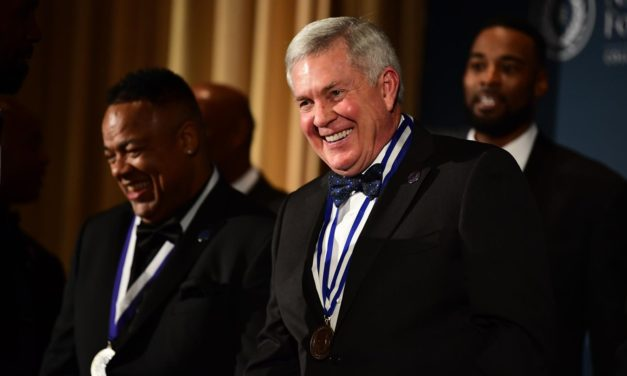 Mack Brown Officially Inducted Into College Football Hall of Fame