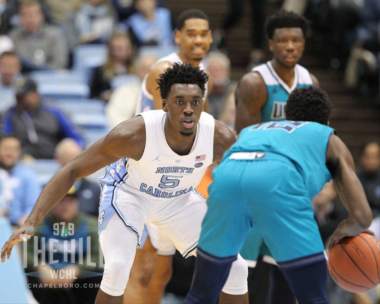 new arrival d8443 b956b UNC Freshman Nassir Little Declares for 2019 NBA Draft ...