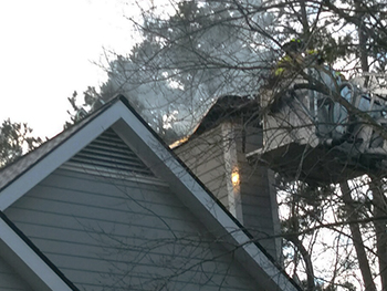 Chapel Hill Crews Quickly Contain Christmas Day Fire