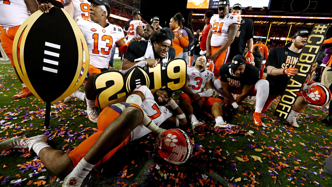 Championship, National Clemson  Won Football the Is