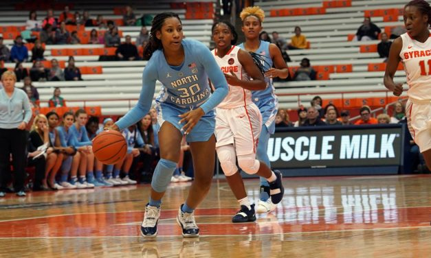 No. 12 Syracuse Makes Easy Work of UNC Women's Basketball