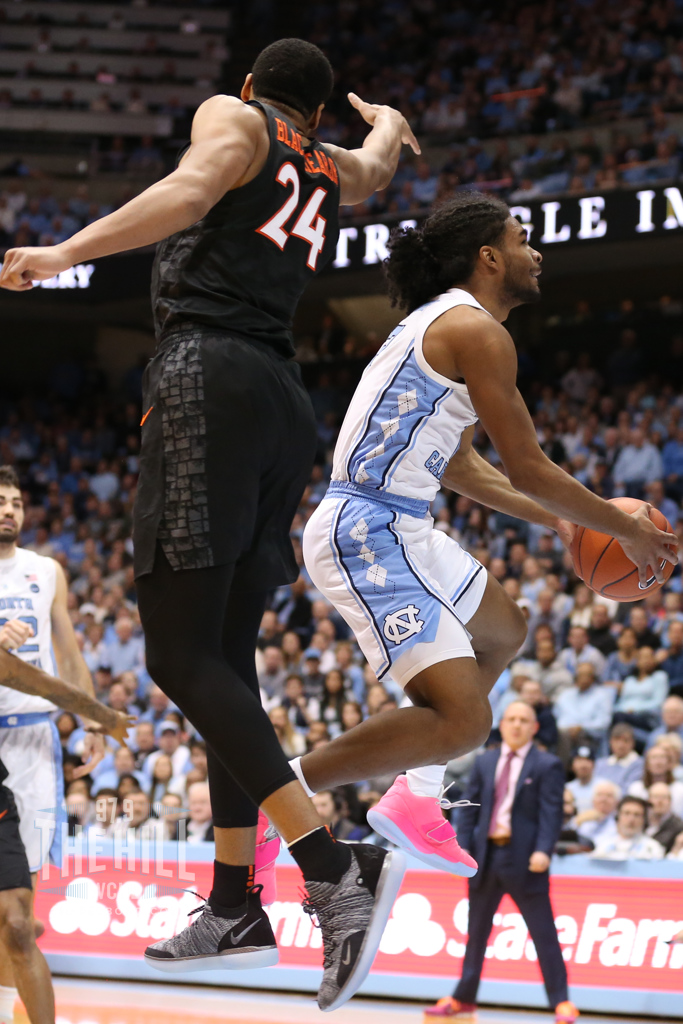Coby White Sparks Critical Run, Leads