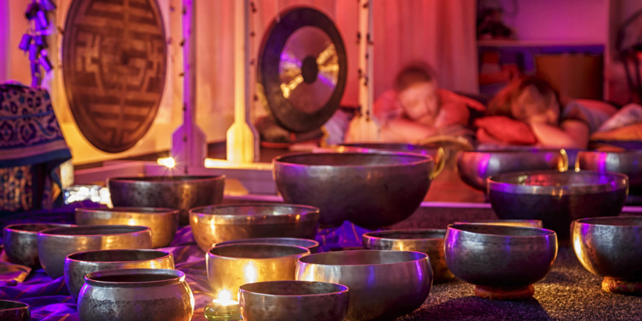 This is Tourism: Sound Bath at Santosha Space Yoga & Massage