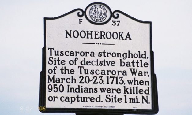 One on One: The Tuscarora War's Dirty Secret