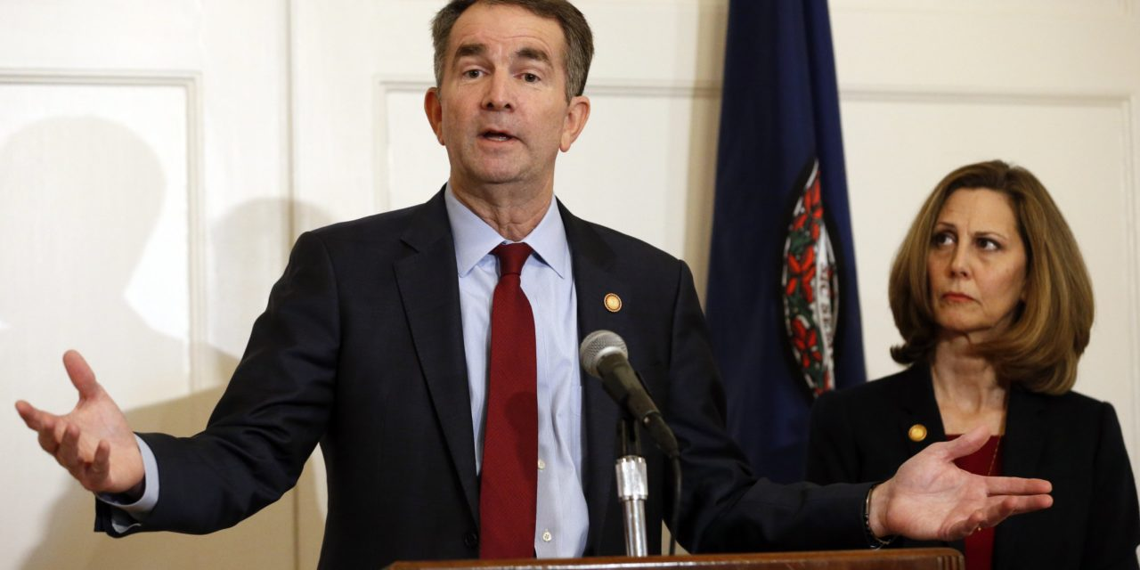 "Virginia Governor to ""Focus on Race and Equity"""