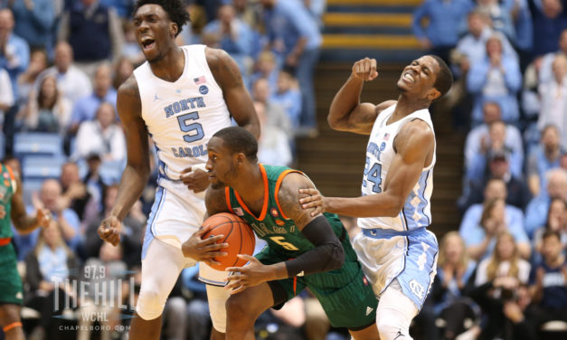 UNC Remains at No. 8 in AP Men's Basketball Top 25