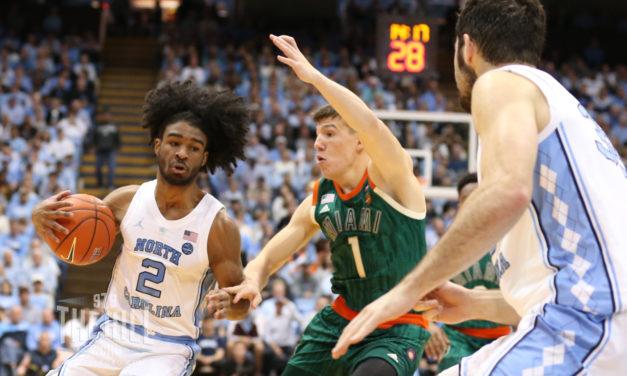 Luke Maye, Coby White Sweep ACC Men's Basketball Weekly Awards